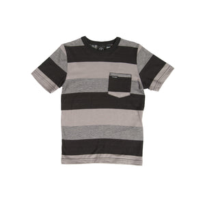 Kids Gridley black t-shirt - Stoked Boardshop  - 3