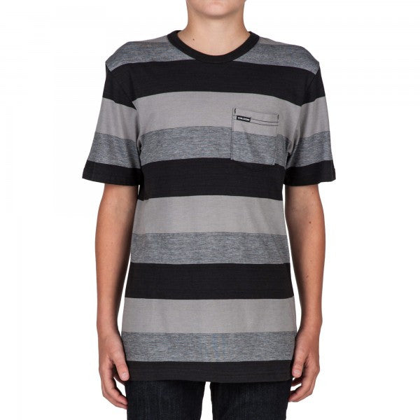 Kids Gridley black t-shirt - Stoked Boardshop  - 1