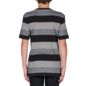 Kids Gridley black t-shirt - Stoked Boardshop  - 2