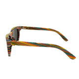 Recycled Skateboard Wood Sunglasses - Stoked Boardshop  - 3