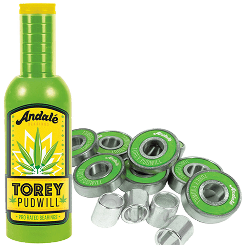 Torey Pudwill Green Sauce Wax & Bearings