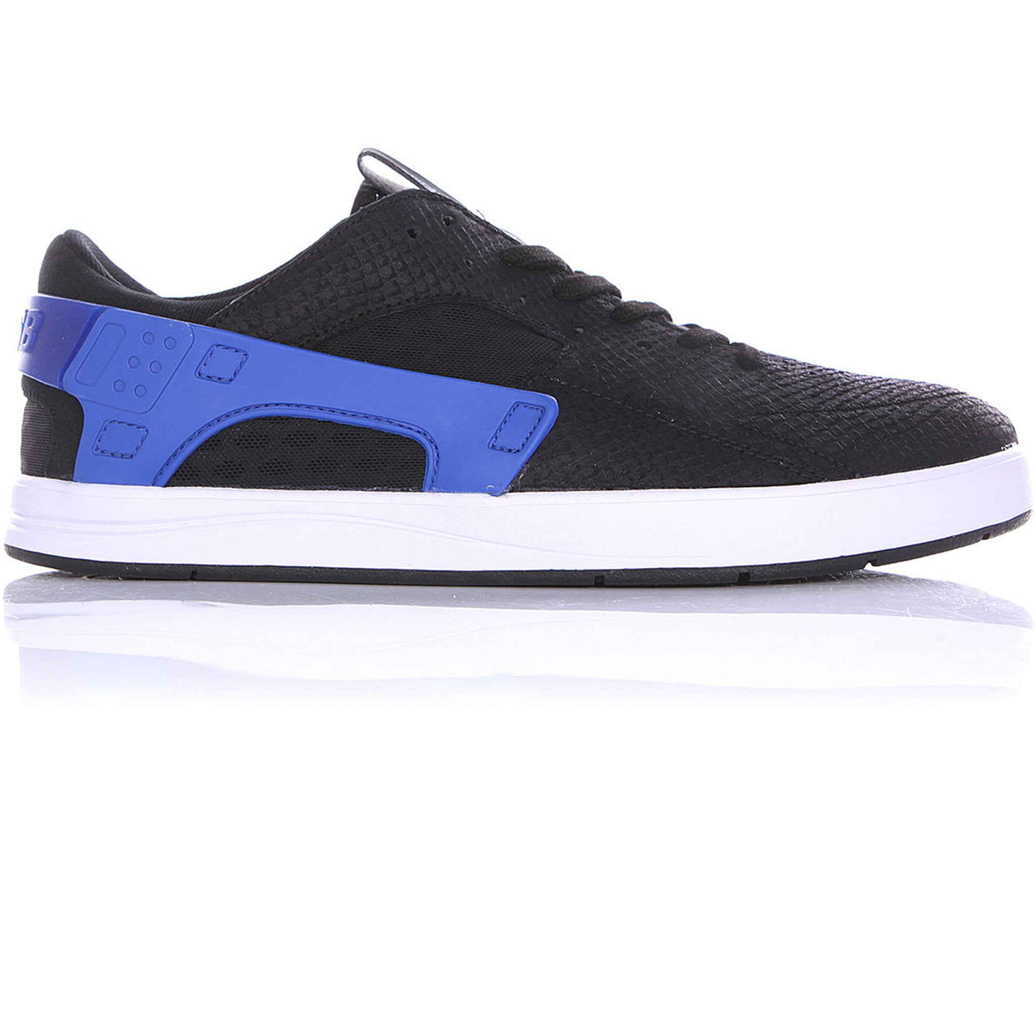 Eric Koston Huarache - Black/Black-Game Royal-White - Stoked Boardshop  - 1