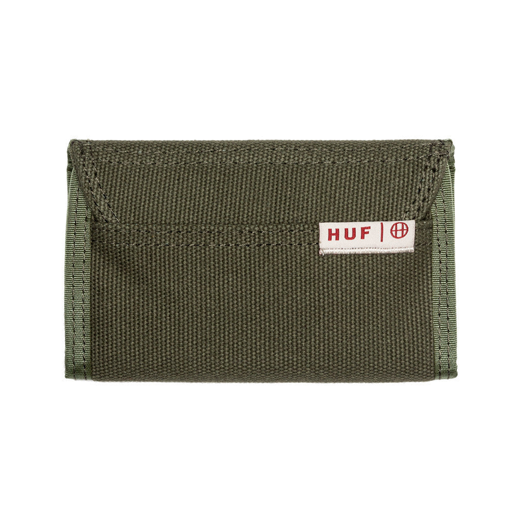 Trifold wallet olive - Stoked Boardshop  - 1
