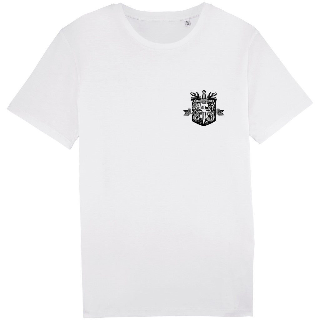 Illuminati white t-shirt