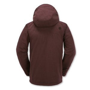 Jan Jacket - Burgundy - Stoked Boardshop  - 2