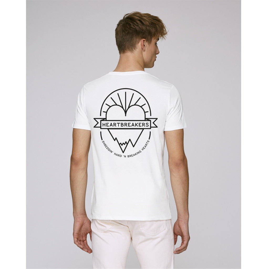 Heartbreakers white t-shirt