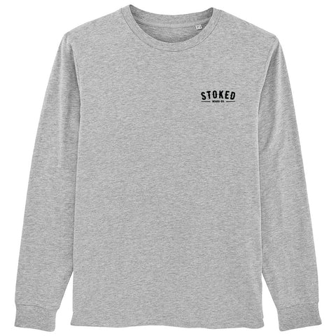 Evil Eye long sleeve t-shirt heather grey