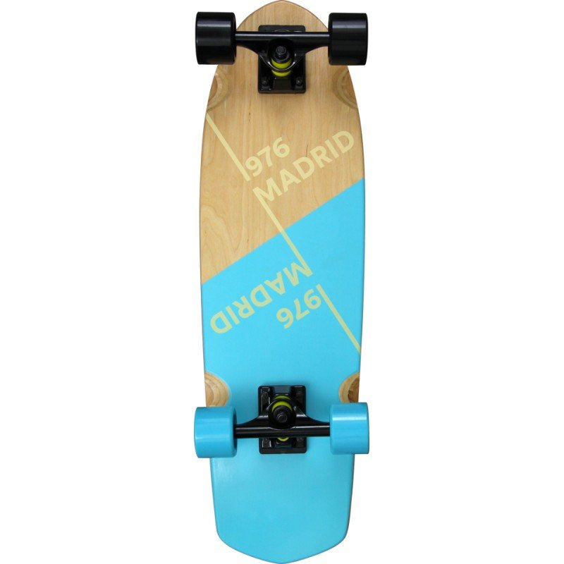 "Picket Slant Blue 28"" complete cruiser"
