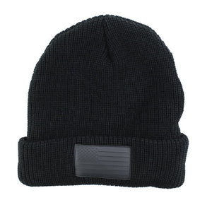 Black Flag Beanie - Stoked Boardshop  - 1