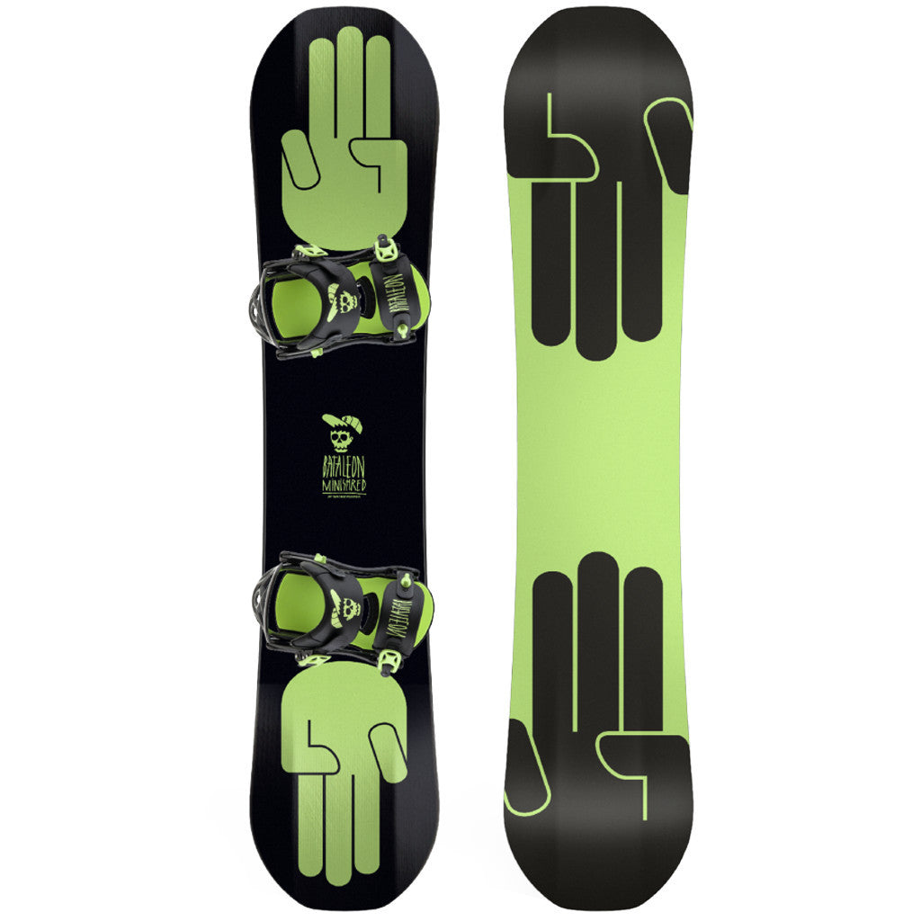 Mini Shred Set Black - Stoked Boardshop  - 1