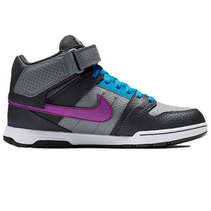 Mogan Mid 2 JR Cool grey/Vivd Purple