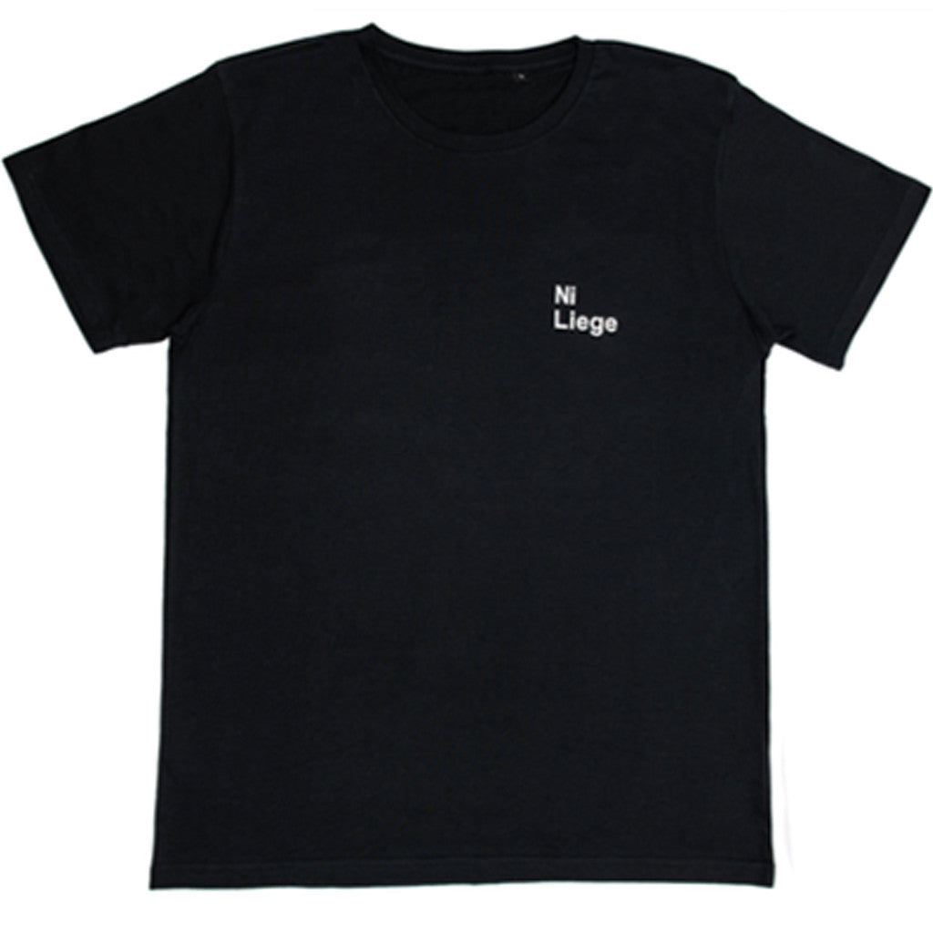 basic logo t-shirt Black/white