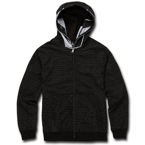 Youth Cool Stone Full Zip Pullover Black