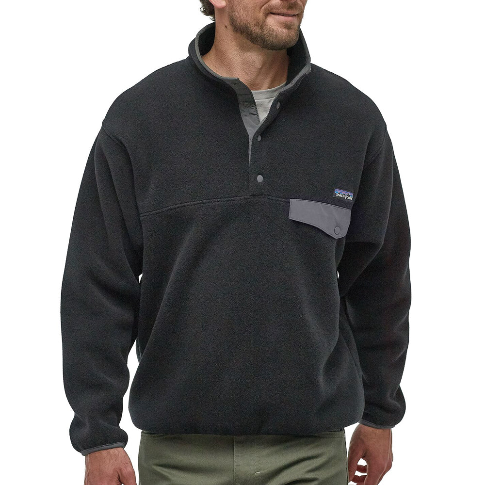 Synchilla Snap-T Fleece pullover Black/ Force Grey