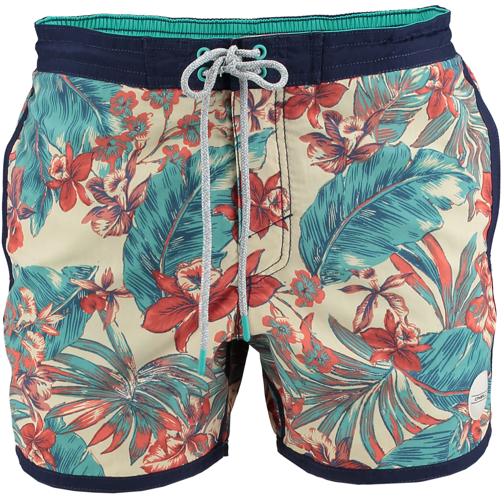 PB Frame Shorts White AOP - Stoked Boardshop