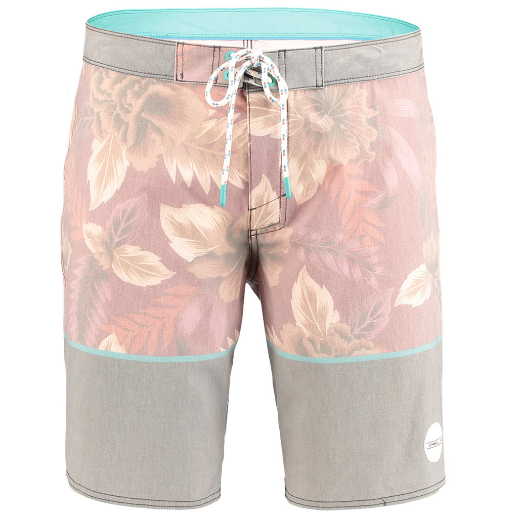 PM Poseidon Boardshort Red AOP - Stoked Boardshop