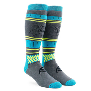 See All Sock - Blue Black - Stoked Boardshop