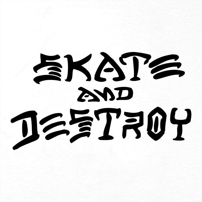 Skate and Destroy T-shirt White