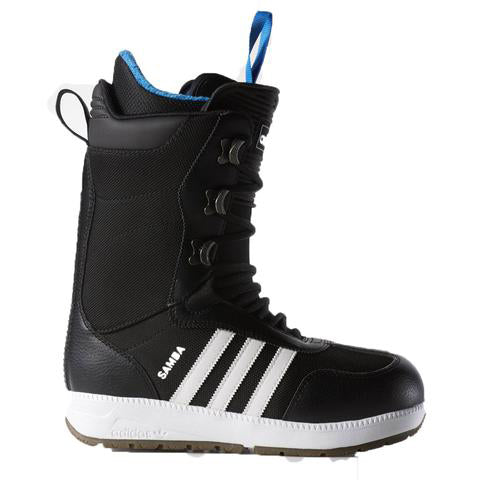 THE SAMBA SNOWBOARDING BOOTS  -  Black/ White/Gum