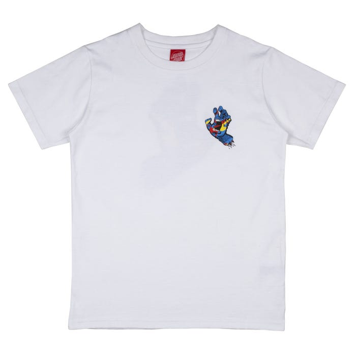 Kids Primary Hand T-Shirt White
