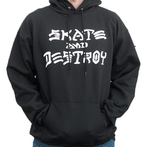 Thrasher Skate and Destroy hoodie black - Stoked Boardshop