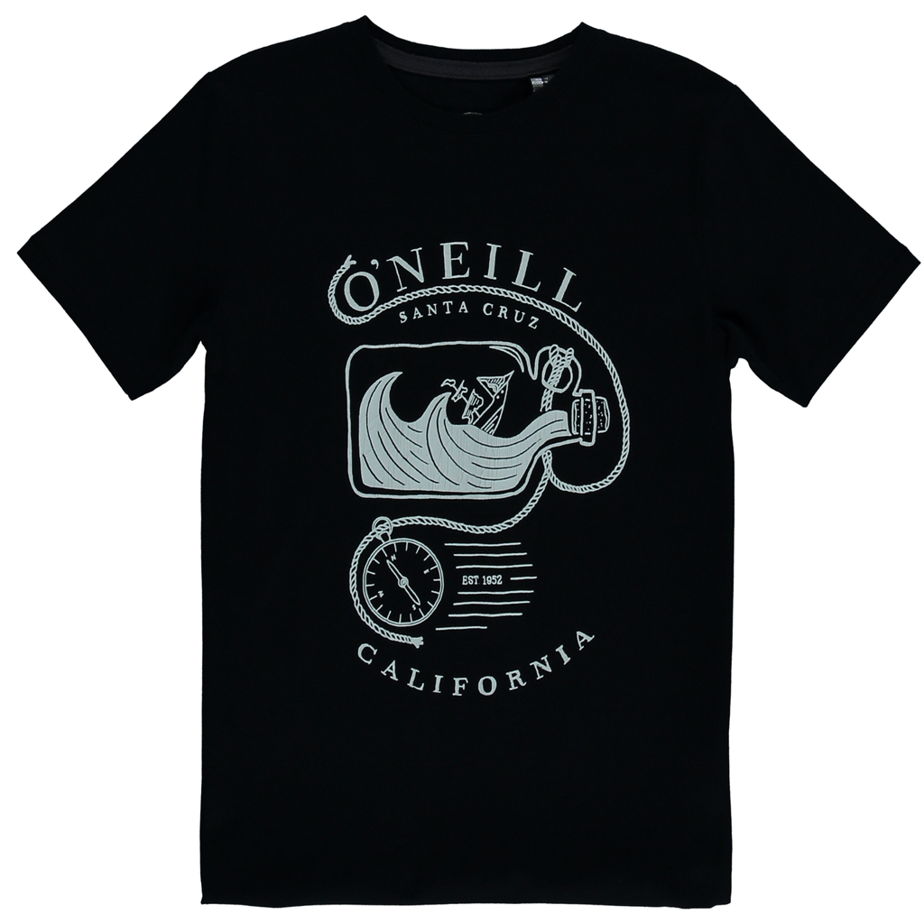 LB Skilled Surfer T-Shirt Black Out - Stoked Boardshop