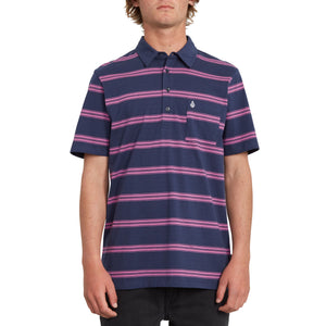 Smithers Polo Blue Black