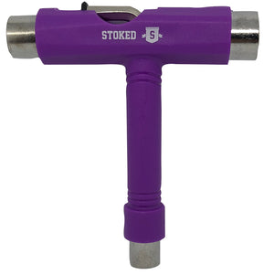 Stoked Classic T Tool Purple