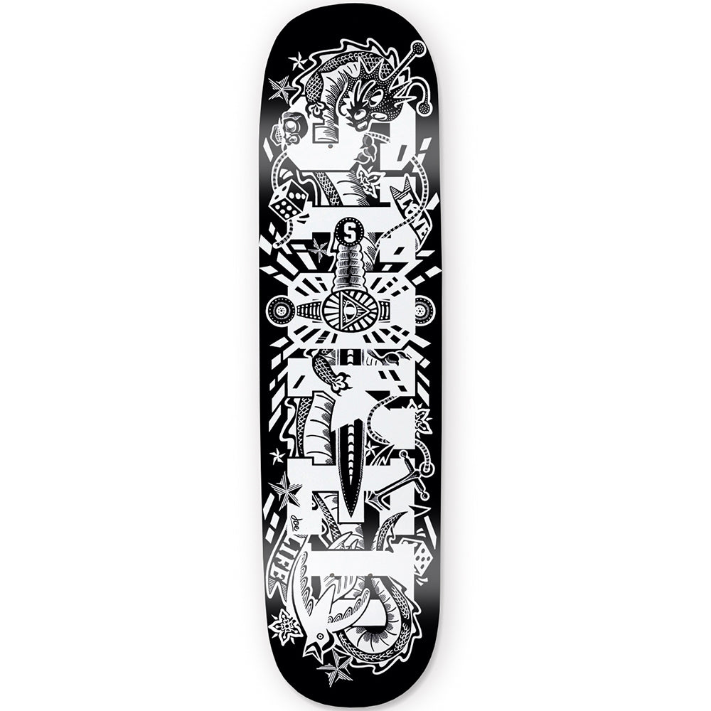 Illuminati Dark Skateboard