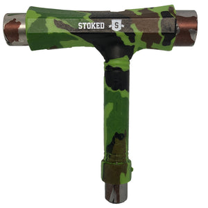 Stoked V2 graphic T Tool camo