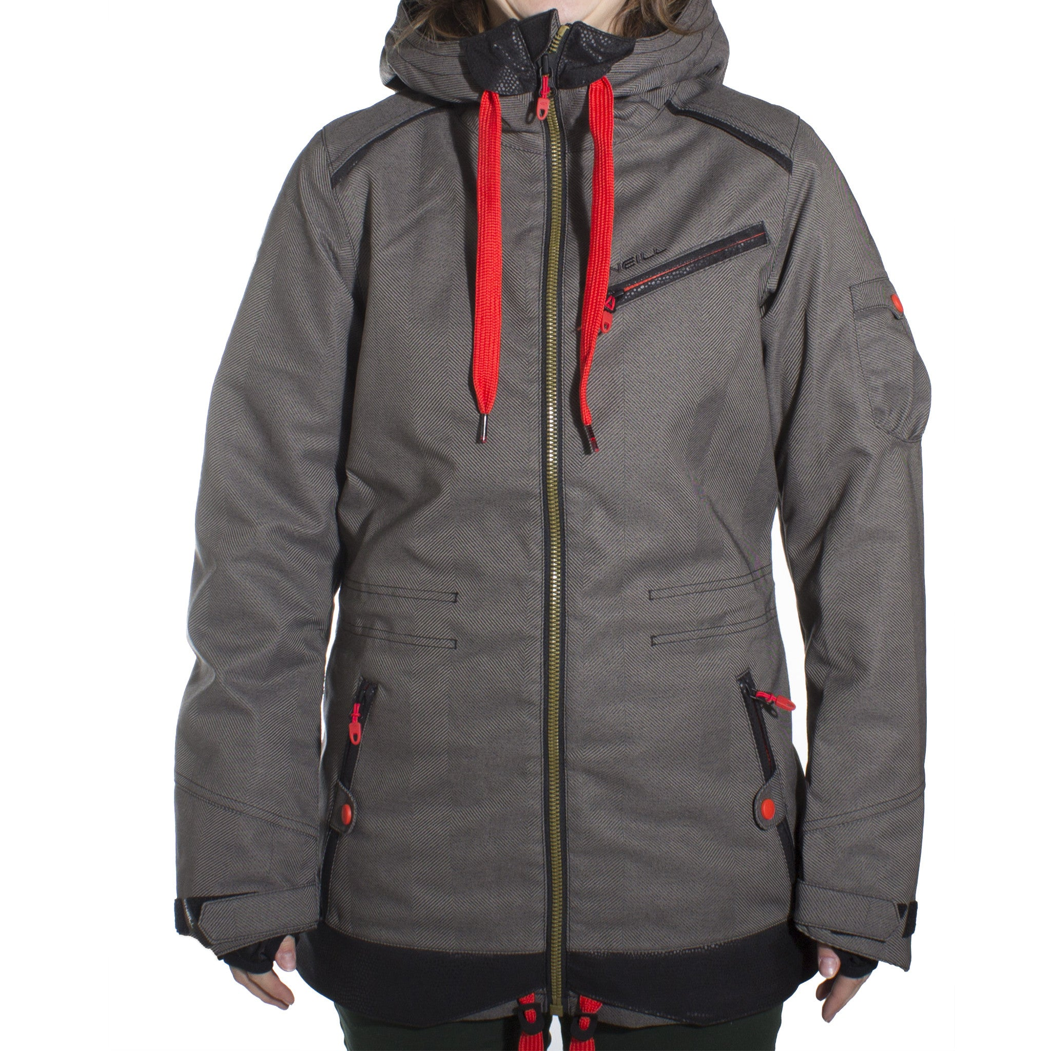 Sparkle Jacket Black Out Womens - Stoked Boardshop  - 1