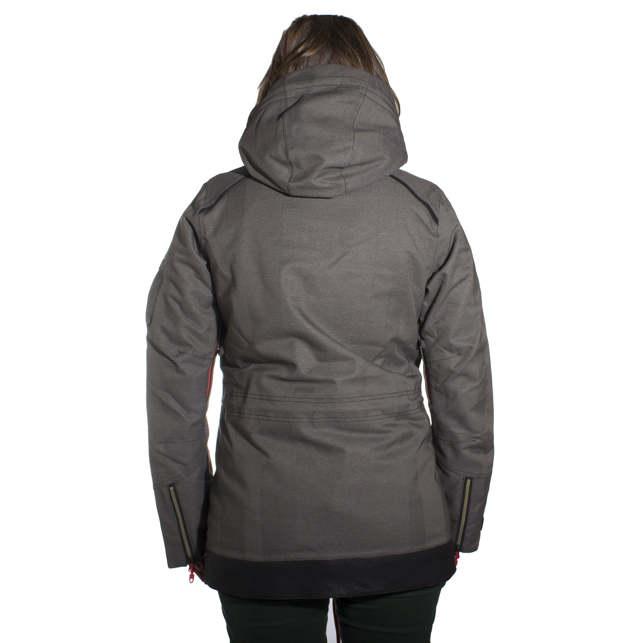 Sparkle Jacket Black Out Womens - Stoked Boardshop  - 3