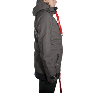 Sparkle Jacket Black Out Womens - Stoked Boardshop  - 4