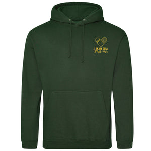 Skate Date Forest Green Hoodie