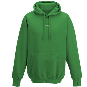 Heavyweight script Hoodie Kelly Green