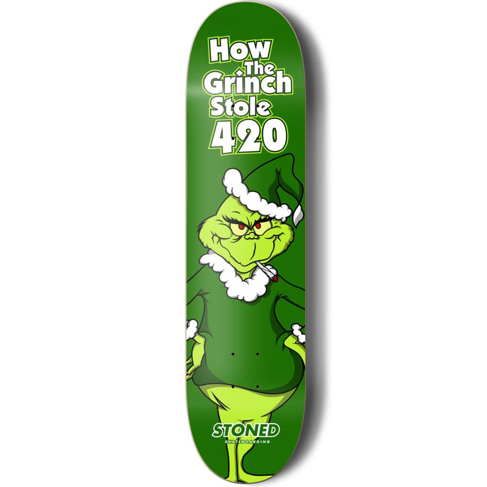 How The Grinch stole 420 board