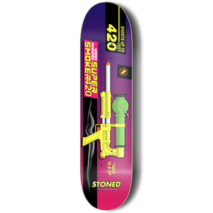 Super Smoker Skateboard Deck
