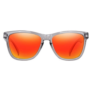 Disco Polarized Trans Grey/Red