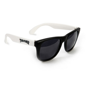 Logo Sunglasses White - Stoked Boardshop