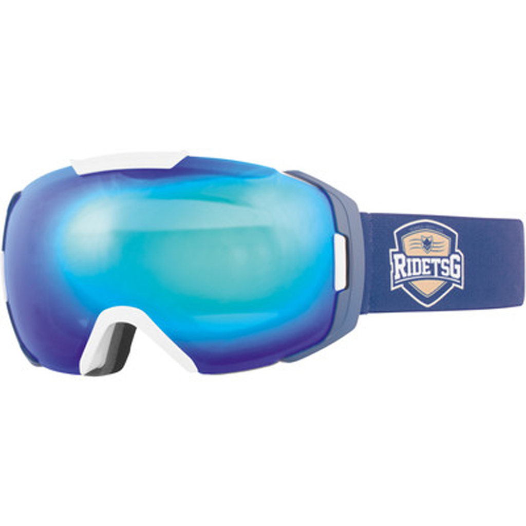 Goggle One Team Crest/Blue Chrome-Yellow - Stoked Boardshop