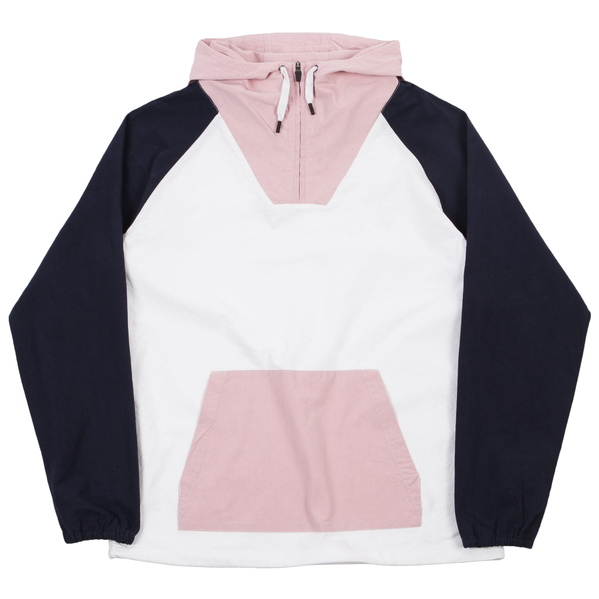 Boardwalk Windy Pullover White/Navy/Pink