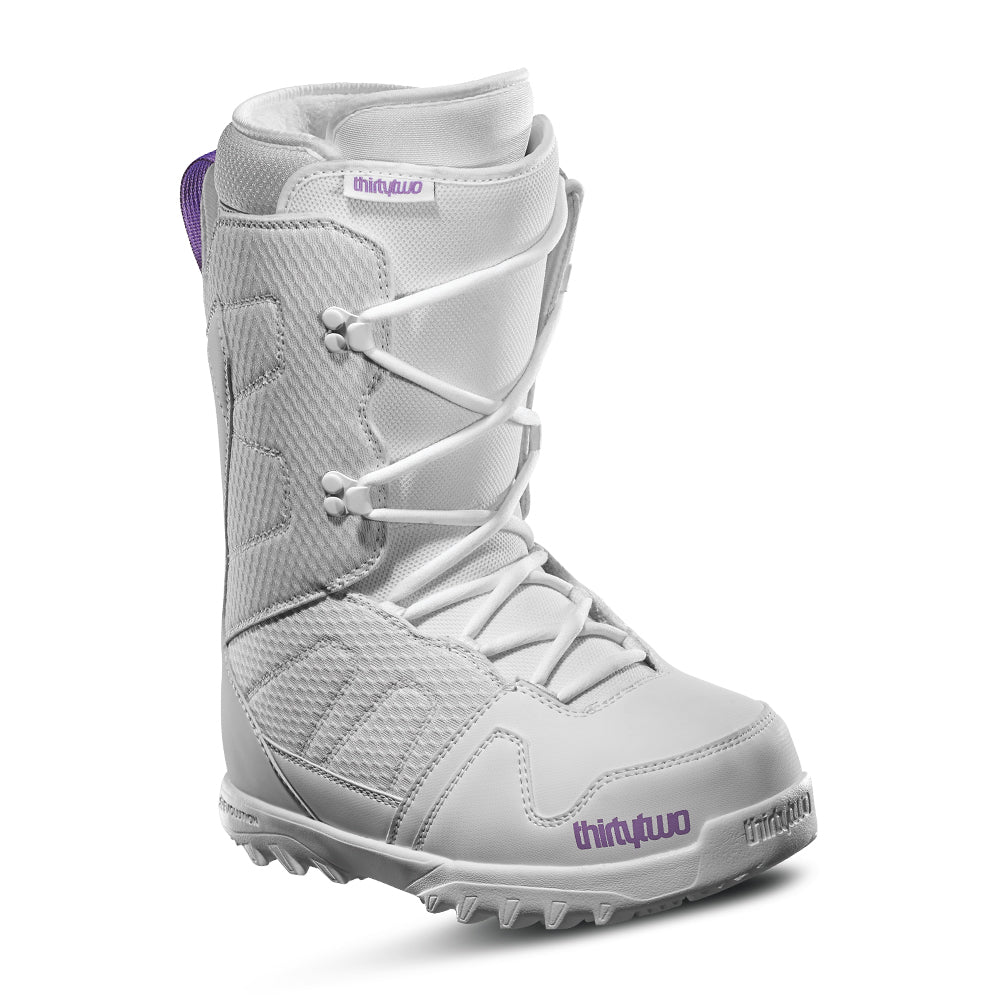 Womens Exit White/Purple