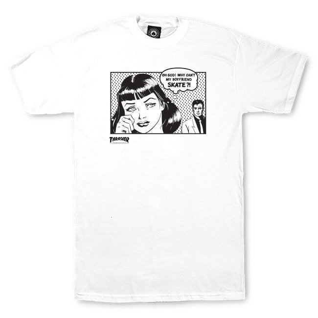 Boyfriend T-shirt White