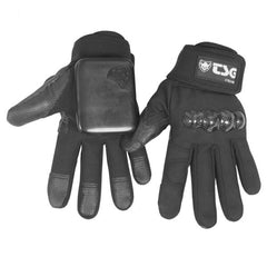 Lederen Slide Gloves Black