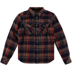 LB Violator Flannel Shirt - Red AOP (kids)