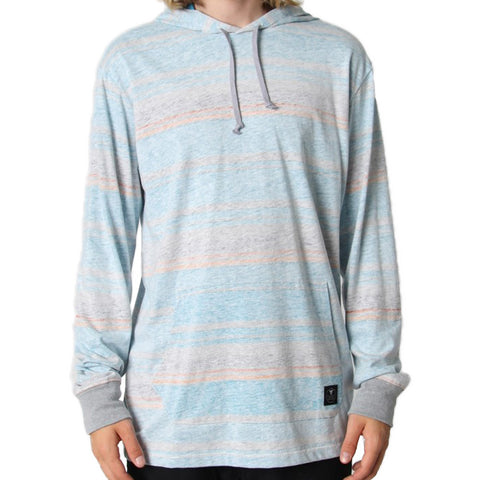 Pillars Grey Heather Hoodie - Stoked Boardshop