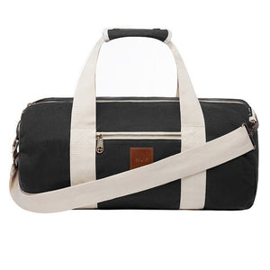 Weekend Duffle Bag Black - Stoked Boardshop