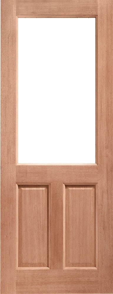 2XG Unglazed External Hardwood Door