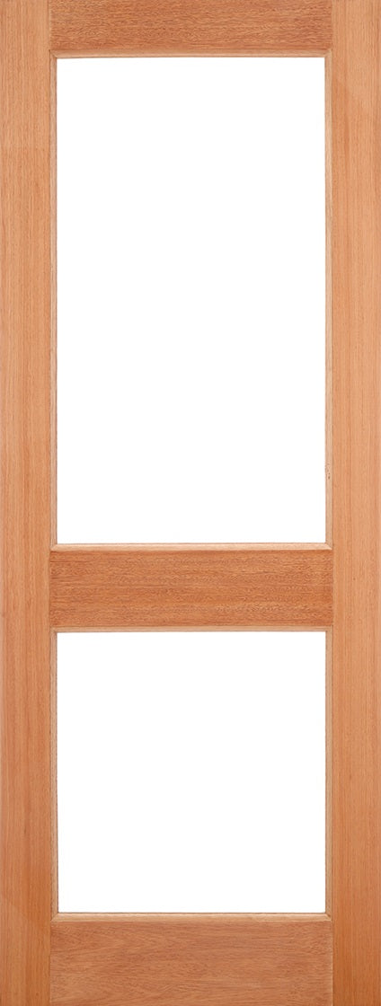 Empress Oak Dowel Zinc Clear Bevelled Double Glazed