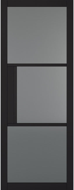 Tribeca Black Internal Door-Tinted Glass